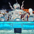 Победителями фестиваля ледовых скульптур в Китае стали россияне, жаль, зрителей поубавил вирус