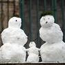 В Москве стихийное бедствие - снова зима и снег