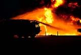 В Москве и Санкт-Петербурге прошлой ночью сгорели одиннадцать грузовиков