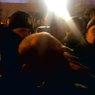 В Киеве участники протеста спали в палатках, а Порошенко — под усиленной охраной