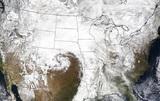В США циклонная бомба спровоцировала сильнейшее за последние 50 лет наводнение