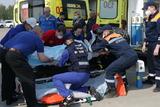 Борт с пострадавшими во время стрельбы в казанской школе на подлете к Москве