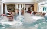 Жители американского города показали последствия катастрофического наводнения