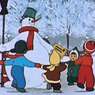 Дед Мороз проводит важную встречу с Йолупукки
