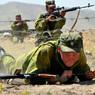 В Чечне тренируются мотострелки