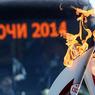 "Мария Шарапова пробежала с факелом Олимпиады по стадиону ""Фишт"""