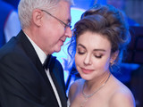 Божена Рынска сыграла свадьбу с медиамагнатом Игорем Малашенко