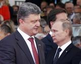 Порошенко и Путин встретились за завтраком