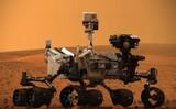 Марсоход сделал фото похожего на серебристый самородок объекта