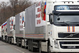 Гумконвой для Донбасса прибыл на границу с Украиной