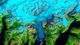 NASA показало движение ледника Колумбия из космоса