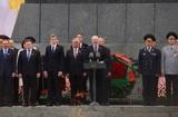 Лукашенко в поздравлении с Днём Победы напомнил о приостановке ДРСДМ