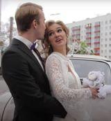 В Уфе лихач сорвал с невесты юбку и умчался с места происшествия на авто (ВИДЕО)