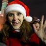 Очевидцы в Нью-Йорке сняли на видео драку Санта-Клаусов (ВИДЕО)