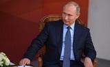 """Путин о своей семье: """"Жили небогато, но телевизор был"""""""