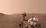 Марсоход Curiosity показал облака на красной планете