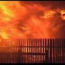 Режим ЧС введен в Оренбургской области, где при пожаре в поселке сгорело восемь домов