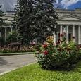 Названа возможная причина пожара в Пушкинском музее в Москве