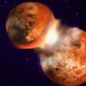 Луна появилась в результате столкновения Земли с планетой Тейя?