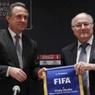 Президент ФИФА Блаттер верит в успешную подготовку России к ЧМ-2018