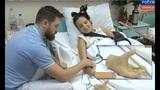 Сор из избы: девушке с ортубленными руками Маргарите Грачевой доверено вести программу на ТВ