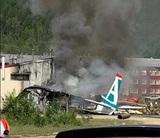 Появилось видео аварийной посадки Ан-24 в Бурятии