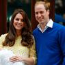 Кейт Миддлтон и принц Уильям показали новорожденную принцессу (ФОТО)