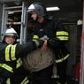 В Петербурге горит мясоперерабатывающий завод