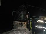 В Нижегородской области перевернулся пассажирский автобус