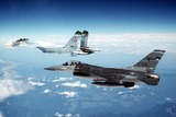 Минобороны показало видео перехвата американского самолёта-разведчика над Балтикой