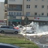 В Варшаве взорвался груженый газовыми баллонами автомобиль