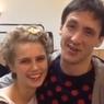 Дарья Мельникова и Артур Смольянинов вышли со своим малышом на прогулку