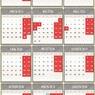 Минтруд составил график праздничных дней на 2017 год