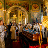 Прошло прощание с митрополитом Казанским и Татарстанским Феофаном