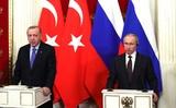 Договоренность о прекращении огня в Идлибе достигнута в Кремле в ходе переговоров РФ и Турции