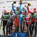Россия на домашнем чемпионате Европы стартовала золотым дублем