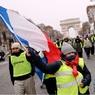 В Париже «желтые жилеты» подошли к Елисейскому дворцу