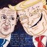 """Карикатуру на Трампа и Зеленского актер Джим Керри сопроводил """"говорящей"""" подписью"""