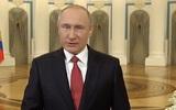 Путин поздравил российских женщин с 8 марта