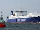 Датское судно с военным грузом загорелось в Северном море