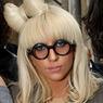 Леди Гага снялась топлес с нарощенными платиновыми волосами(ФОТО)