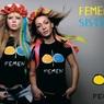 Активисткам Femen не дали раздеться перед женевским отелем