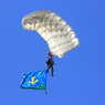 В Краснодарском крае после прыжка с парашютом пропали три десантника