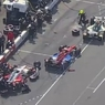 Indycar: Первое в карьере лидерство Алешина закончилось штрафом