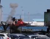Армия Хафтара заявила об уничтожении турецкого корабля с оружием в порту Триполи