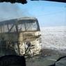 В Казахстане задержали троих водителей сгоревшего автобуса с 52 пассажирами
