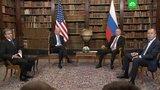 Путин подарил Байдену набор хохломы, а тот вручил очки-авиаторы и хрустального бизона