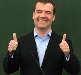 Медведев хочет сделать из России государство высокого КПД