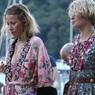 Папарацци Италии запечатлели беременную Собчак на девичнике миллионерш