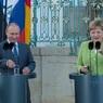 Путин и Меркель «сверили часы»
